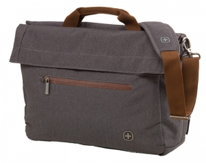"TORBA NA LAPTOPA WENGER SUNSCRAPER, 16"", 480X330X140MM, SZARY"