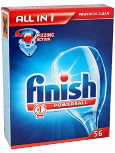 TABLETKI DO ZMYWARKI FINISH ALL-IN-ONE POWERBALL, 56SZT., HG-518276